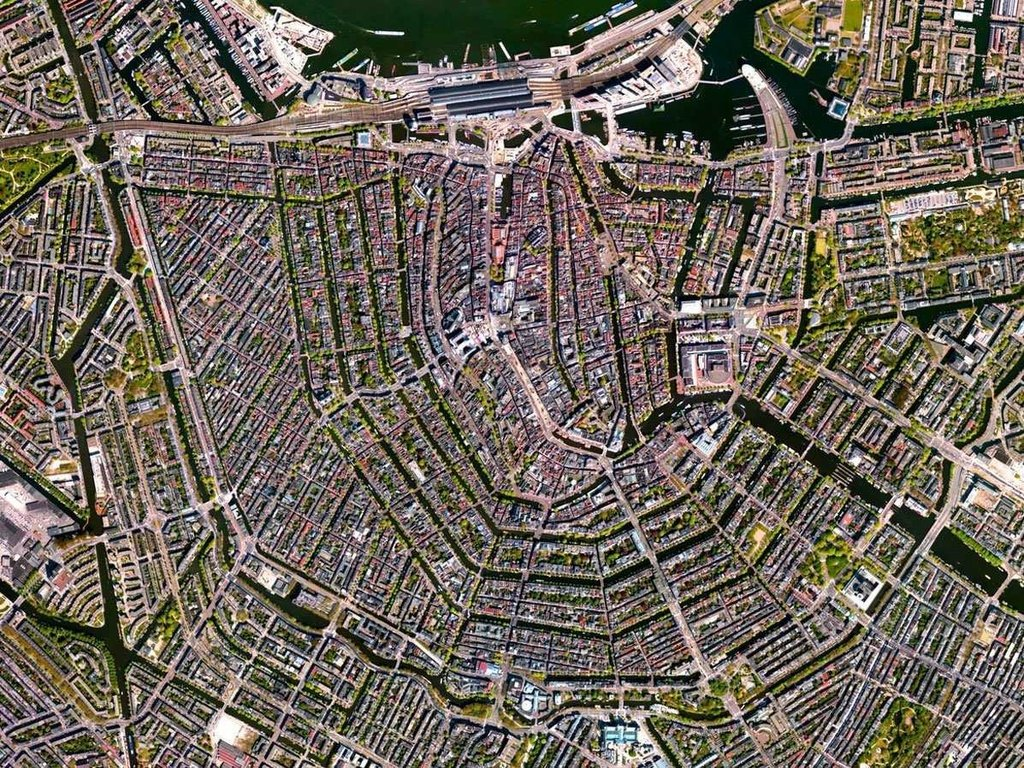 Toàn cảnh thế giới qua những bức ảnh vệ tinh ấn tượng