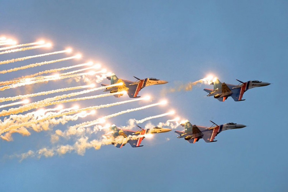 Hồ sơ vụ 3 tiêm kích Su-27 Nga rơi ở Cam Ranh năm 1995