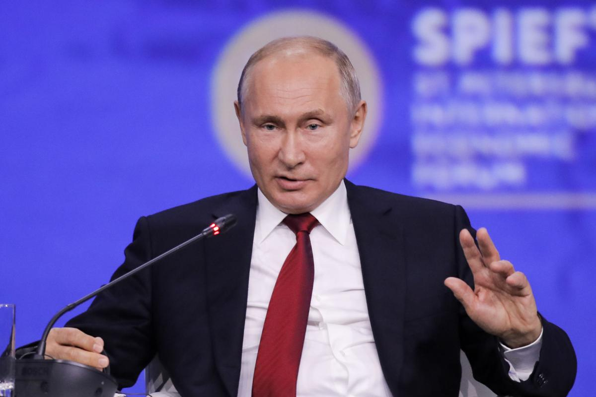 7 điều phê phán của Tổng thống Putin về chính sách kinh tế hiện thời của Mỹ