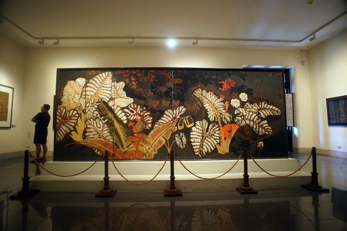 Chùm ảnh: 'Dọc mùng' – kiệt tác sơn mài của danh họa Nguyên Gia Trí