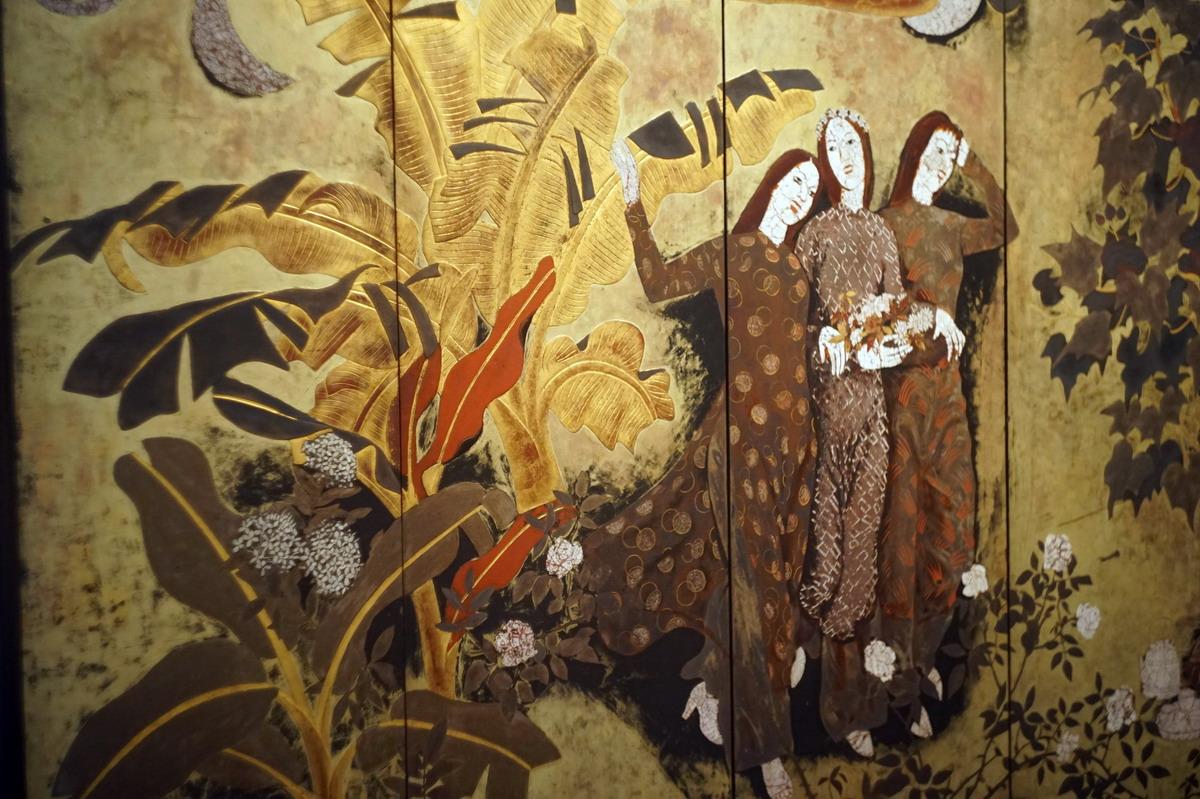 Sơn mài – chất liệu đặc sắc của nền hội họa Việt Nam
