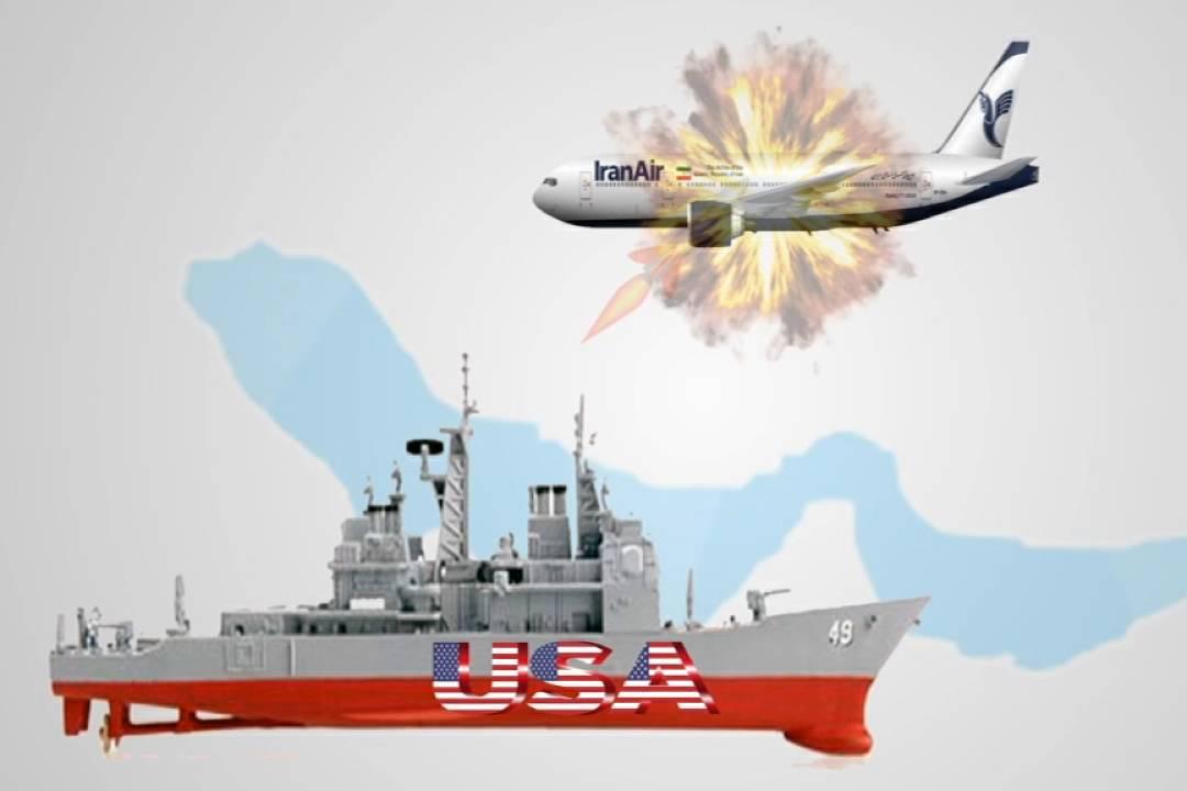 Nhìn lại vụ Mỹ bắn rơi máy bay dân sự Iran năm 1988