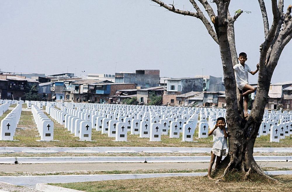 Ảnh hiếm về nghĩa trang quân đội Pháp ở Sài Gòn trước 1975
