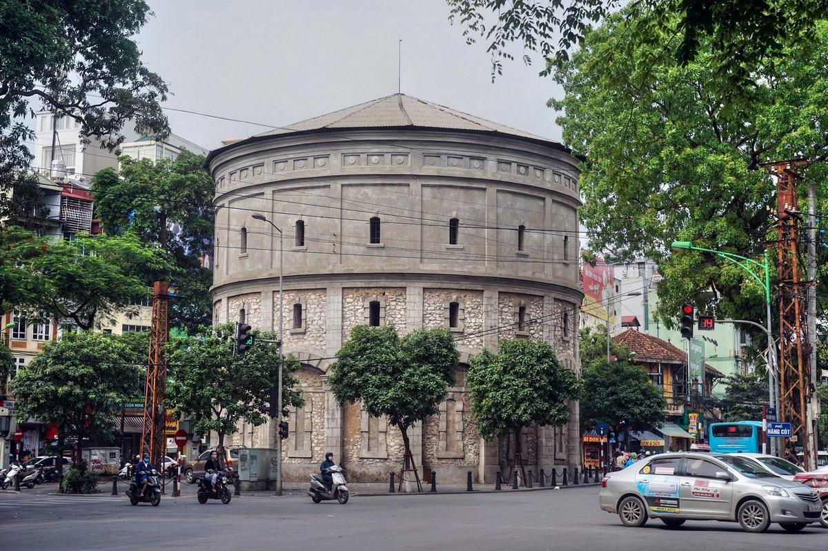 Chùm ảnh: Tháp nước Hàng Đậu và những bí mật lịch sử ít người biết