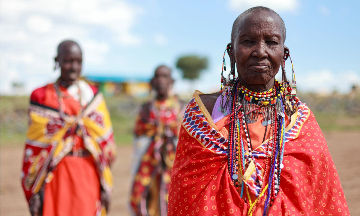 Chùm ảnh: Cuộc sống của tộc người Maasai ở Đông Phi