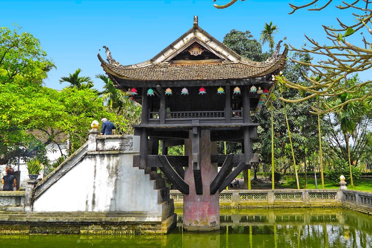 Hình tượng hoa sen trong nghệ thuật kiến trúc Phật giáo