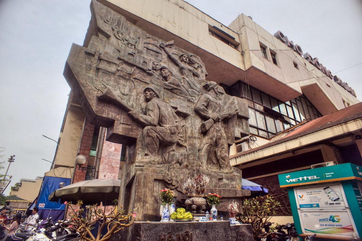 Chùm ảnh: Chợ Đồng Xuân – khu chợ 'huyền thoại' của thủ đô Hà Nội