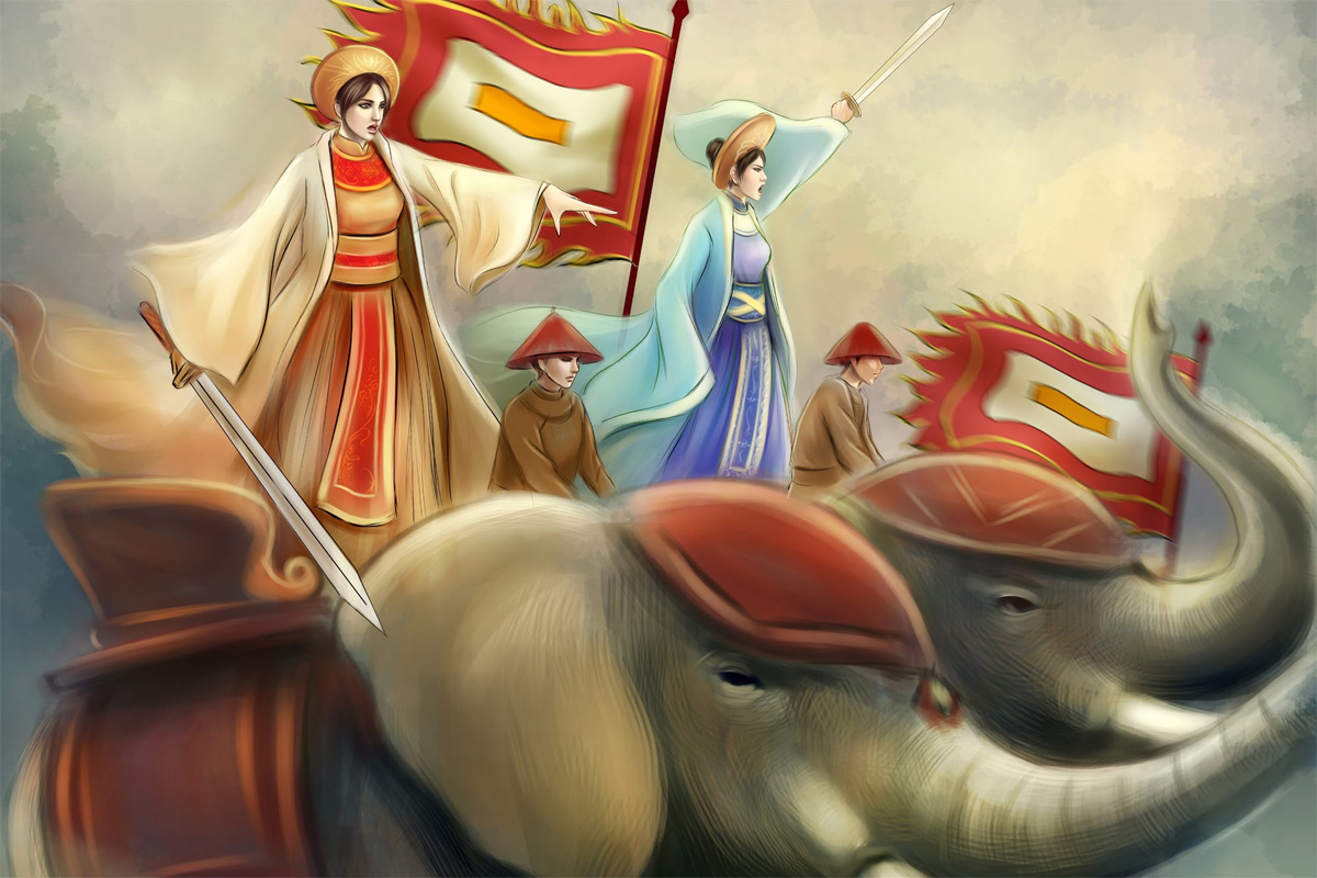 Những nữ tướng vĩ đại trong cổ sử Việt Nam