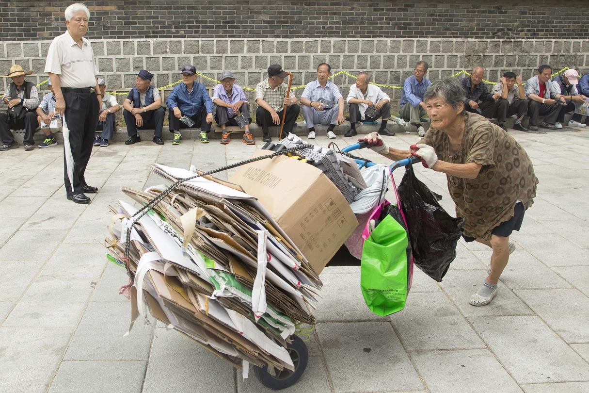 Cuộc sống khốn cùng của người cao tuổi trong xã hội Hàn Quốc