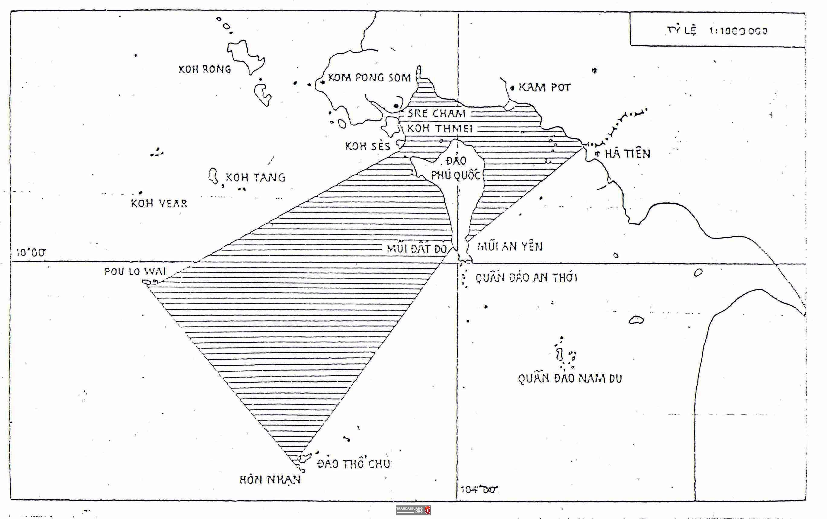 Nội dung Hiệp định về Vùng nước lịch sử của Việt Nam và Campuchia