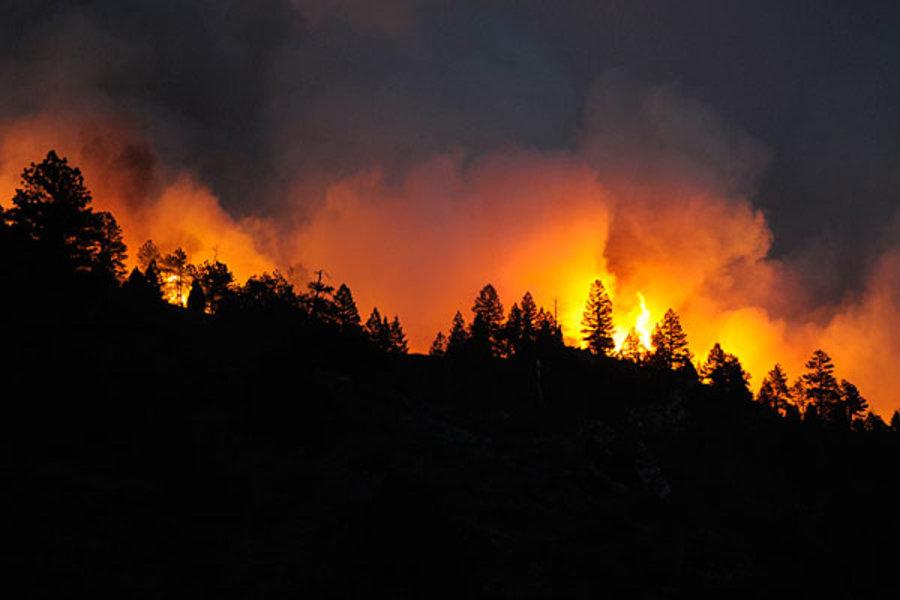 Tác động của biến đổi khí hậu đến nguy cơ cháy rừng