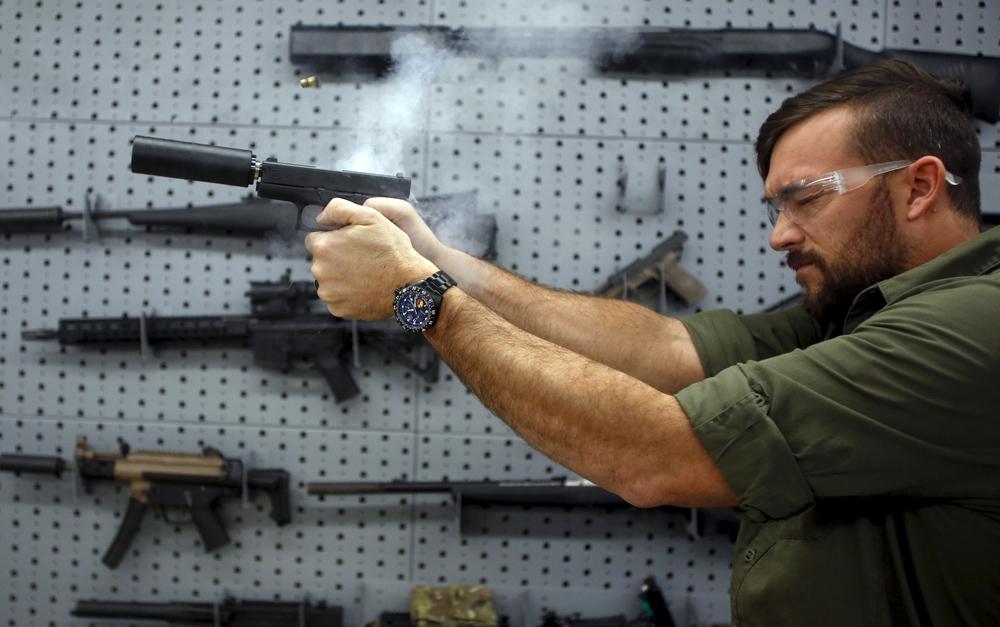 Chùm ảnh: Người Mỹ sở hữu súng nhiều đến mức nào?