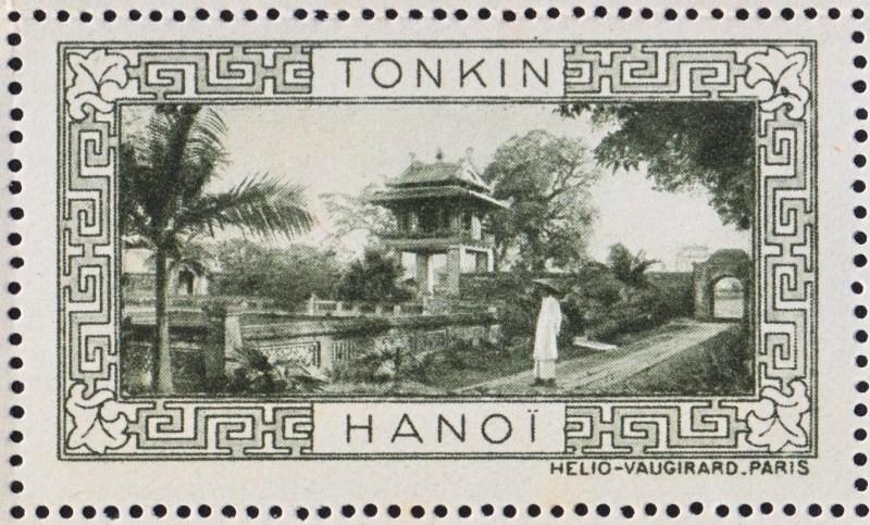 Chùm ảnh: Lào và Campuchia thời thuộc địa trong bộ tem cổ của Pháp