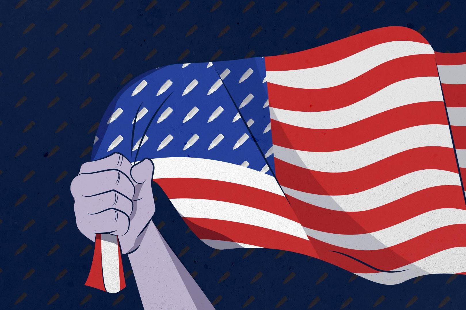 Nước Mỹ điên loạn của tôi vẫn để người dân mang súng chạy quanh