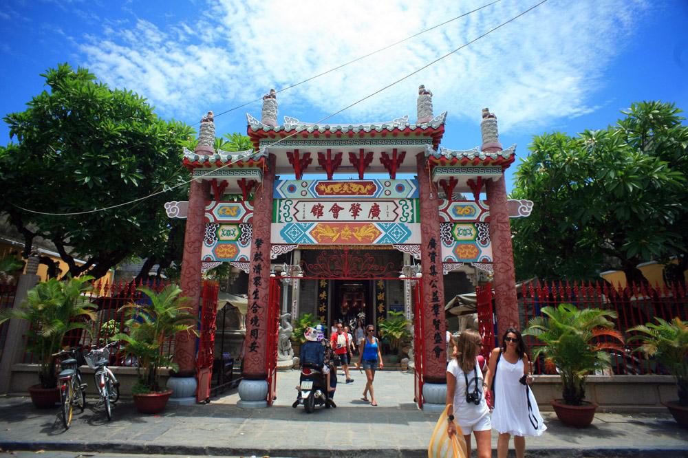 Chùm ảnh: Khám phá hội quán Quảng Đông của người Hoa ở Hội An