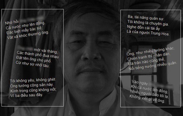 Ông Thái Bá Tân đã quá bất kính với Đại tướng Võ Nguyên Giáp