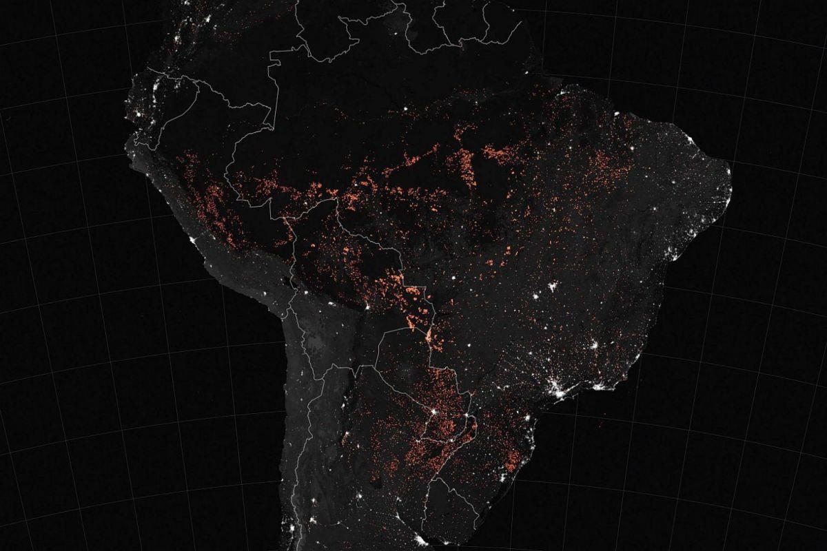Những hình ảnh kinh hoàng về hỏa ngục mang tên Amazon