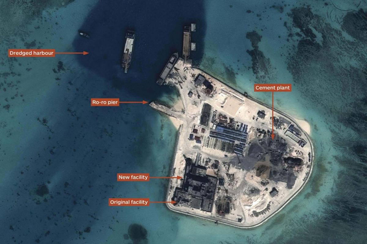 Cái nhìn của Mỹ về các căn cứ phi pháp của Trung Quốc ở Trường Sa
