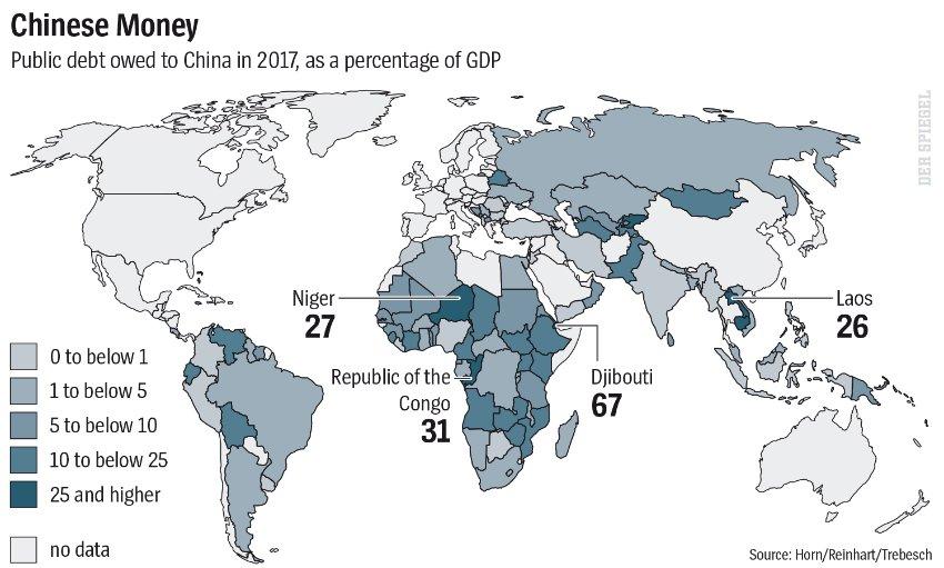 Trung Quốc đang đẩy hàng loạt nước đang phát triển rơi vào rủi ro