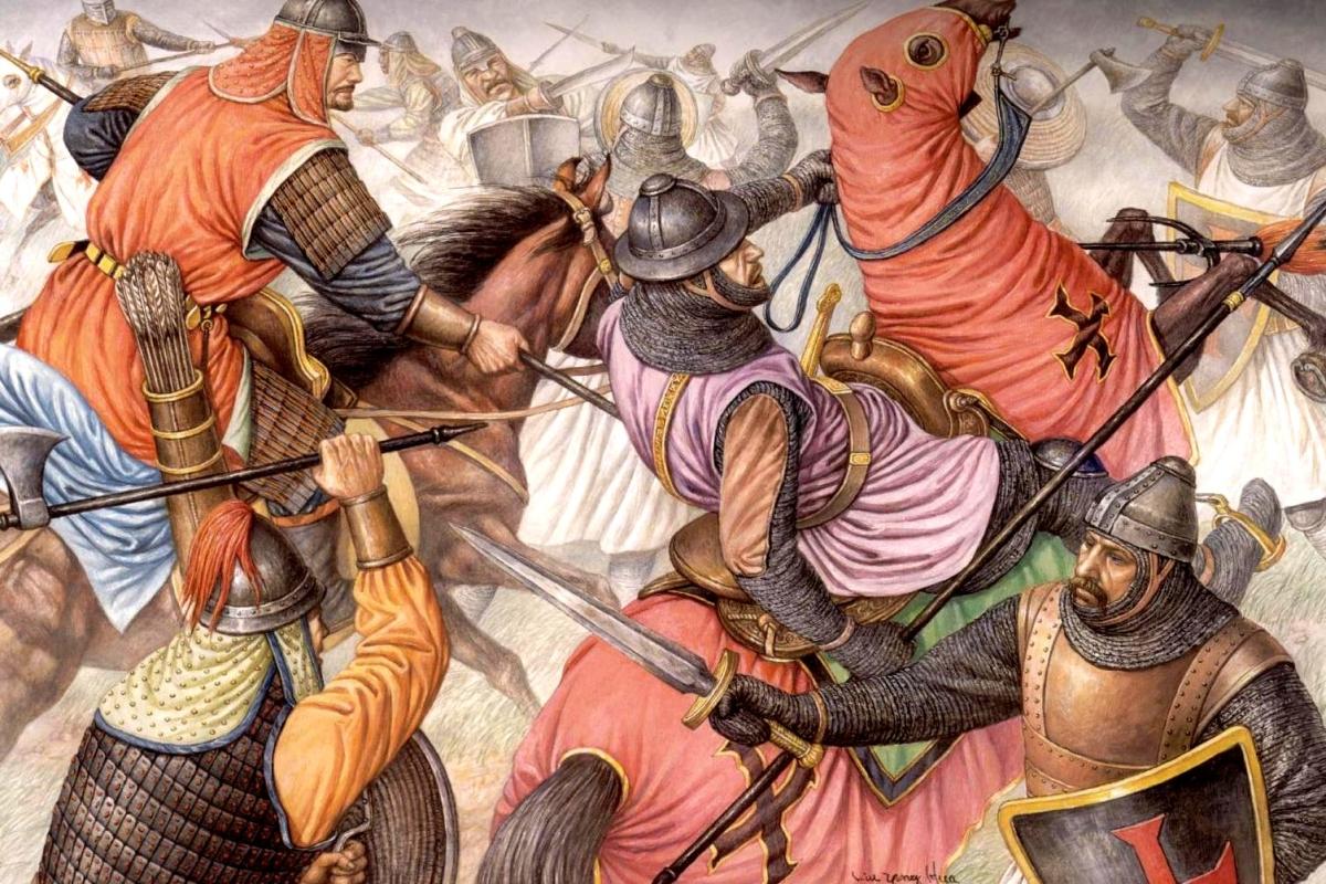 Lần duy nhất người Mông Cổ  thất bại trong trận đánh dàn quân 'một đấu một'