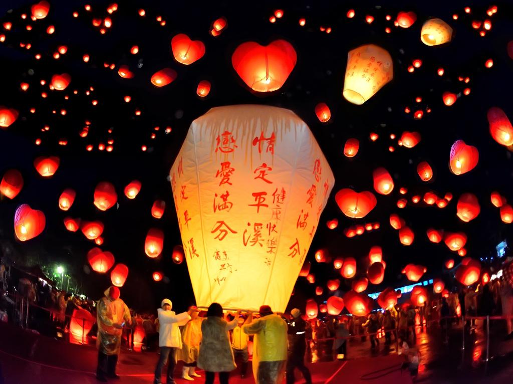 Chùm ảnh: Người dân các nước châu Á làm gì trong Tết Trung thu?