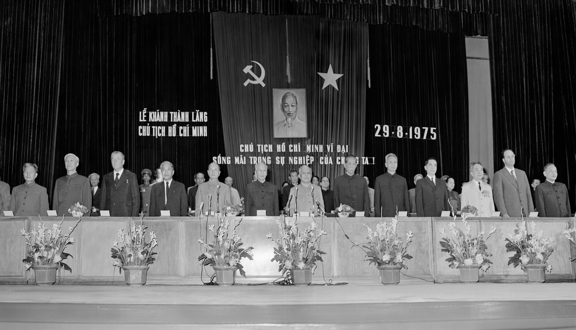 Hinh anh hiem ve 2 nam xay dung Lang Chu tich Ho Chi Minh hinh anh 9