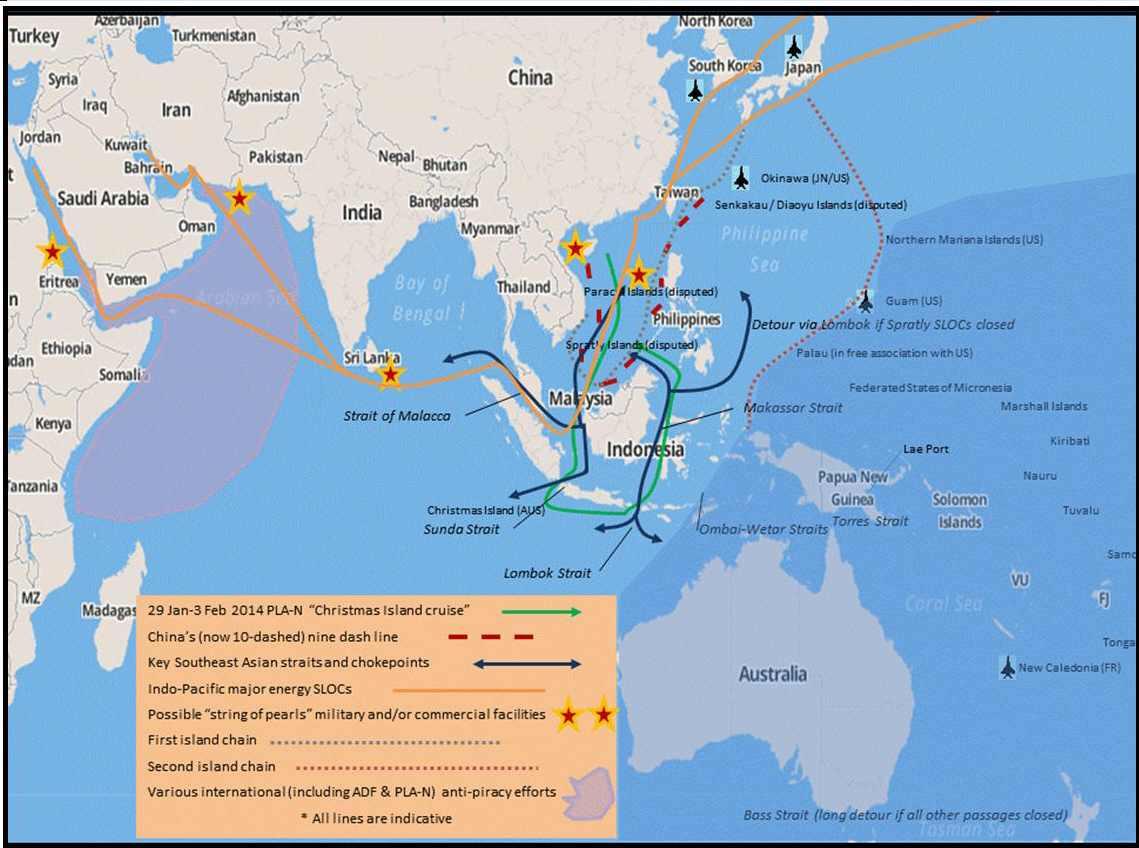 Trung Quốc, Nam Thái Bình Dương và bóng ma của MacArthur