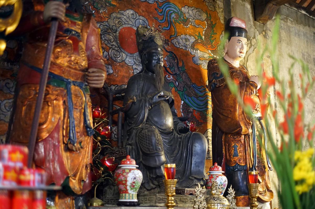 Chùm ảnh: Đền Quan Đế – ngôi đền thờ Quan Vũ giữa phố cổ Hà Nội