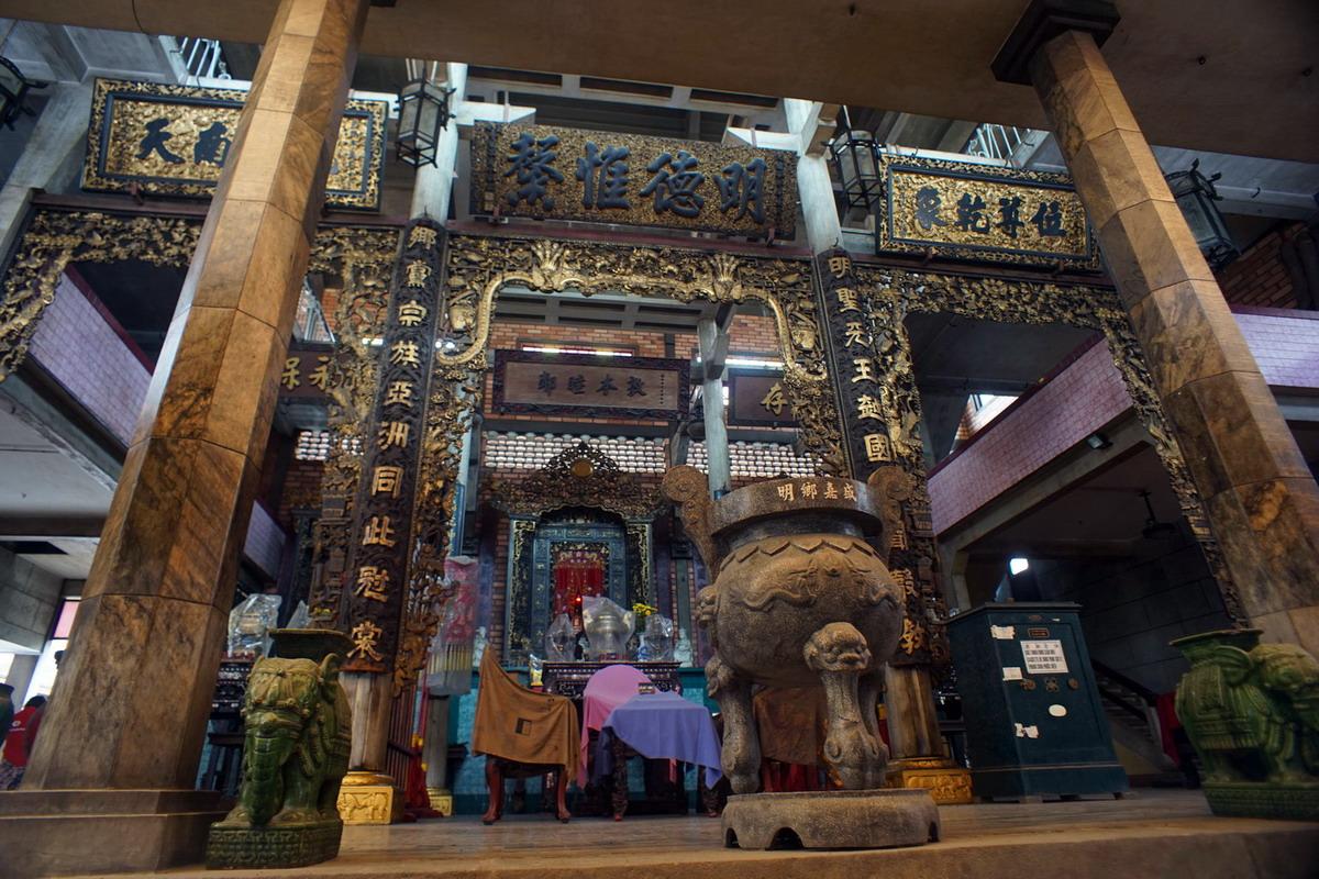 Chùm ảnh: Nét kiến trúc độc đáo của đình Minh Hương Gia Thạnh ở Chợ Lớn