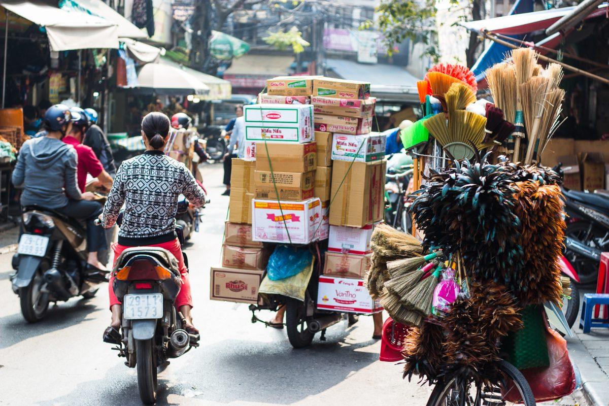 Xe máy ở Việt Nam qua góc nhìn của một người nước ngoài