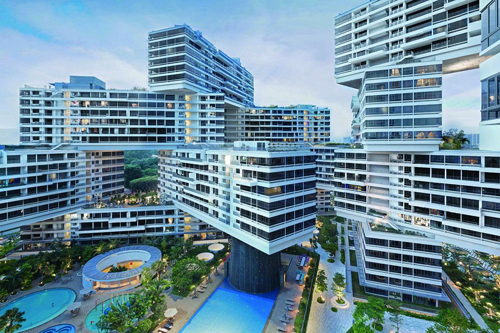 Chung cư The Interlace – kiệt tác kiến trúc xanh của Singapore