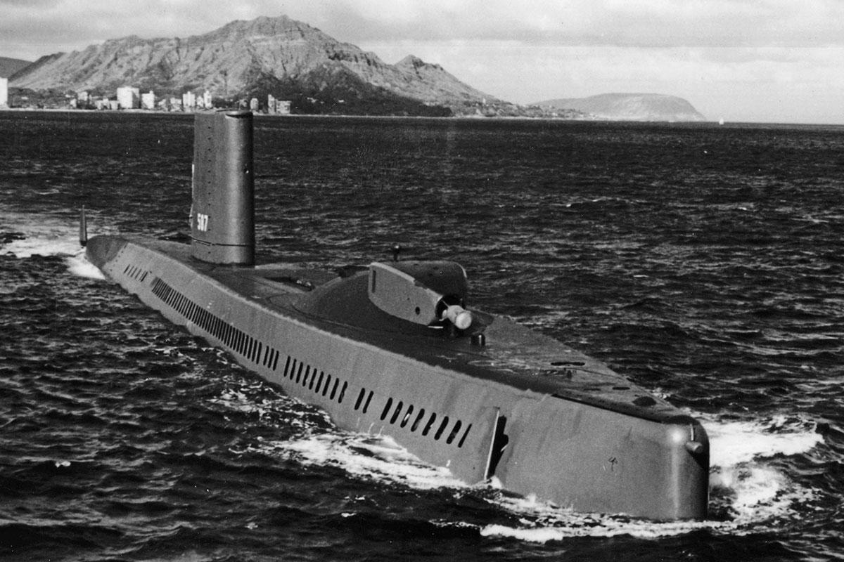 Lịch sử của hình thái chiến tranh tàu ngầm