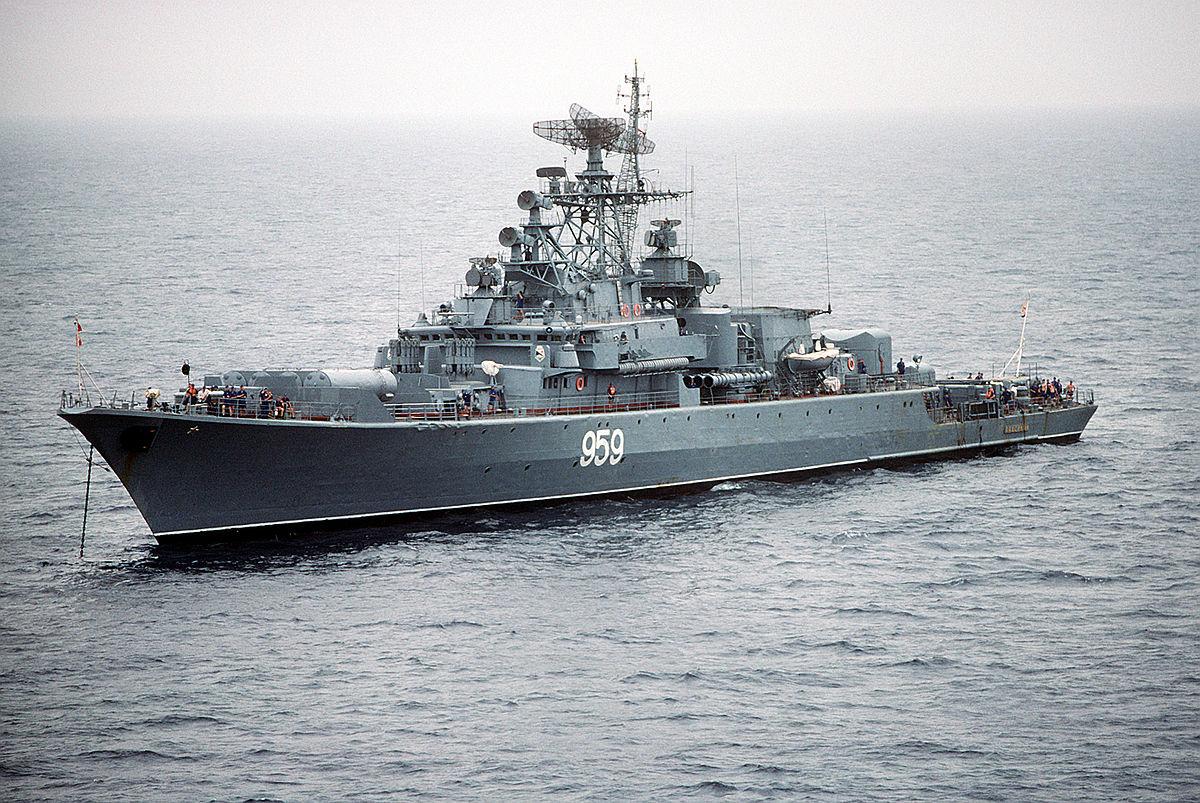 Cuộc đối đầu của hải quân Mỹ và Liên Xô tại Crimea năm 1988