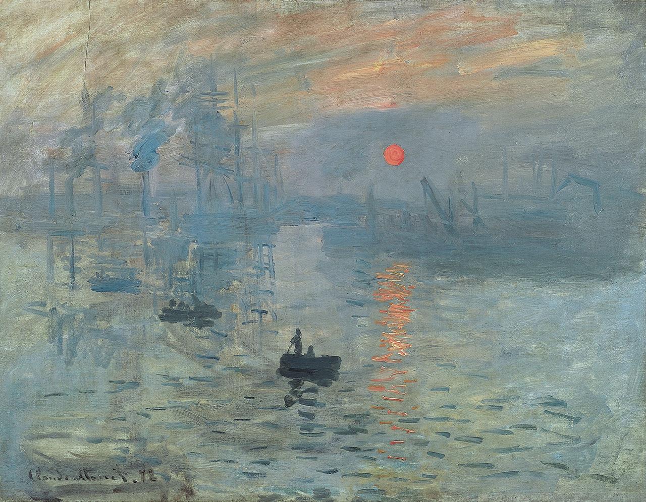 Claude Monet – bậc thầy của trường phái hội họa ấn tượng
