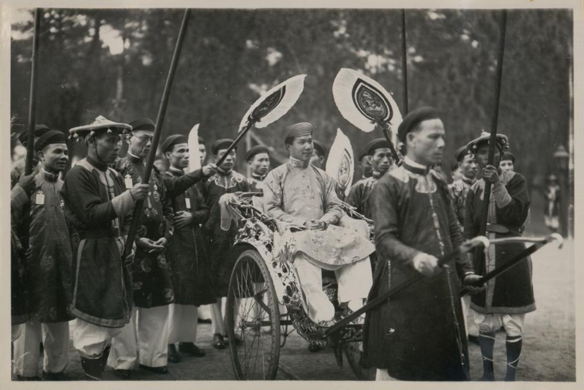 Chùm ảnh: Vua Bảo Đại làm lễ tế đàn Nam Giao ở Huế năm 1933