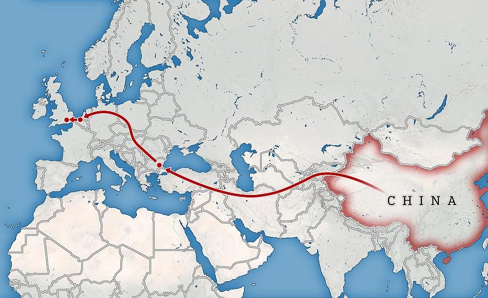Vì sao người Trung Quốc mạo hiểm tính mạng để tới Anh?