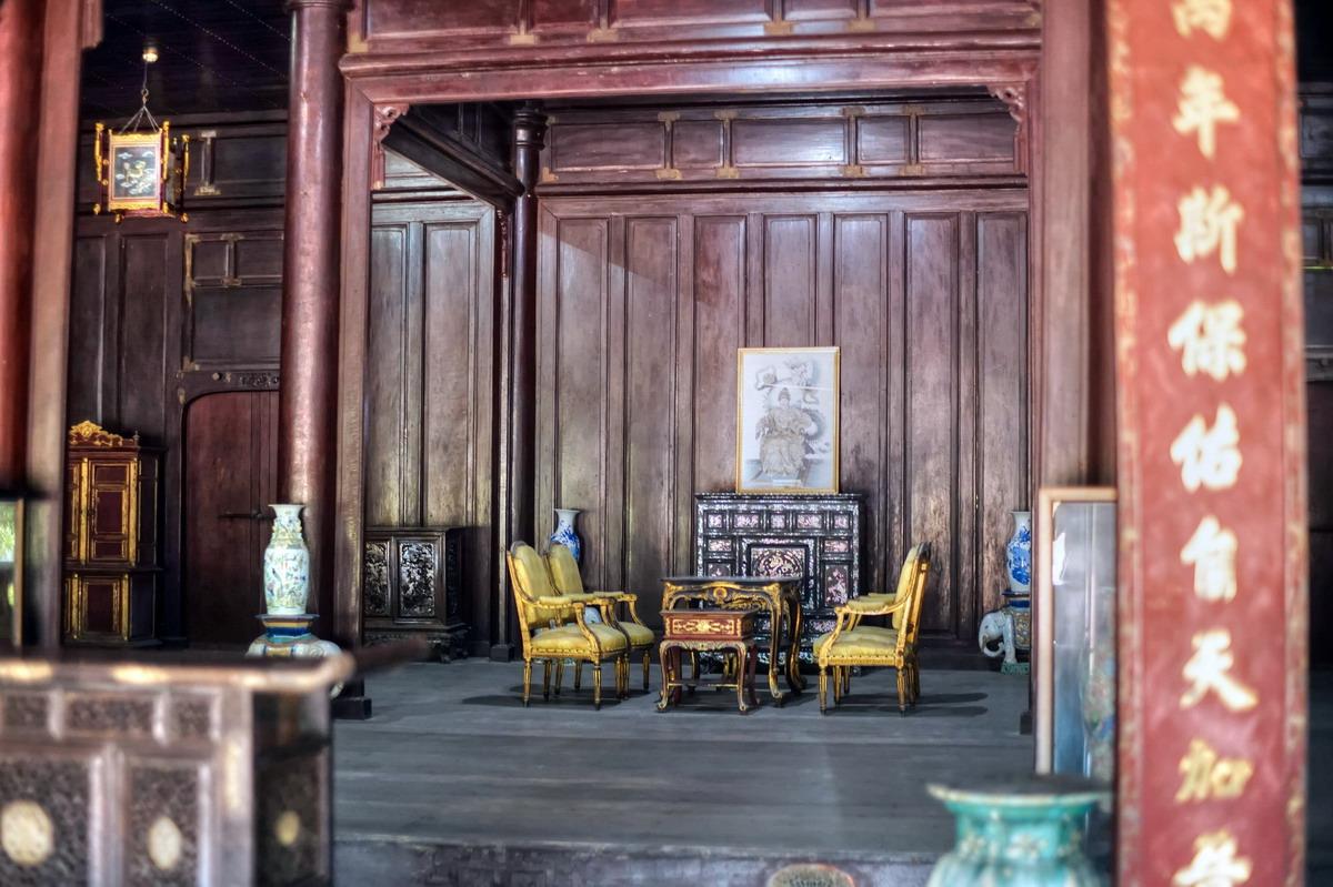 Chùm ảnh: Cung Diên Thọ – nơi cư ngụ của các Hoàng thái Hậu nhà Nguyễn