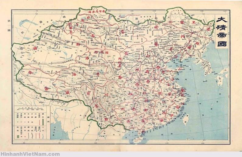 Chính sử Trung Quốc: Lãnh thổ Trung Quốc chỉ kéo dài đến đảo Hải Nam