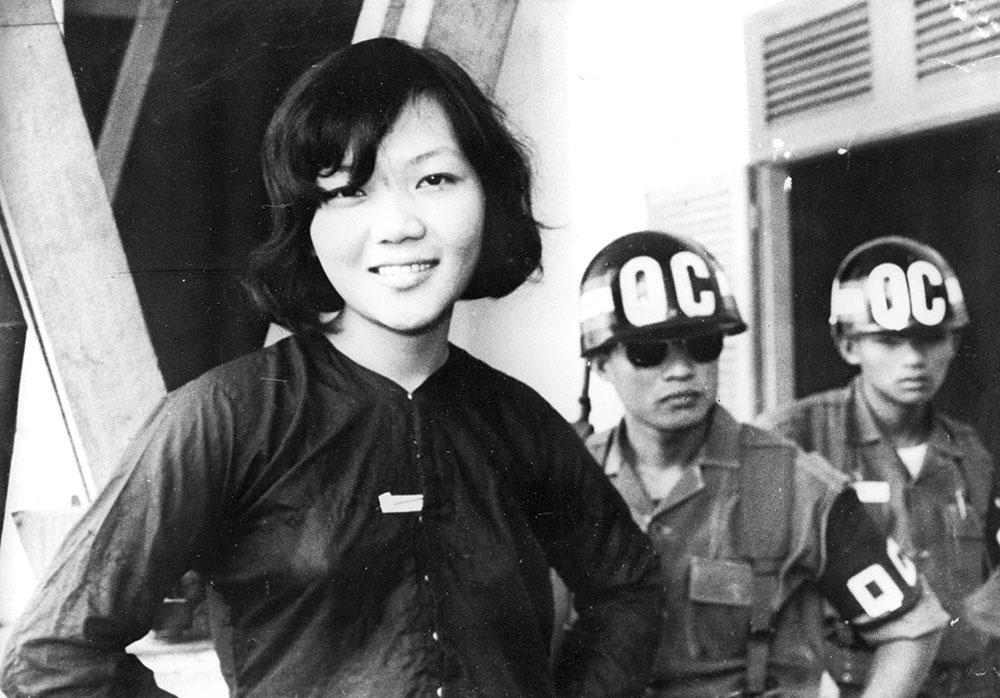 'Nụ cười chiến thắng' của Võ Thị Thắng