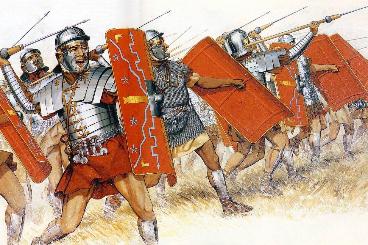 Quân đội Lã Mã được tổ chức như thế nào?