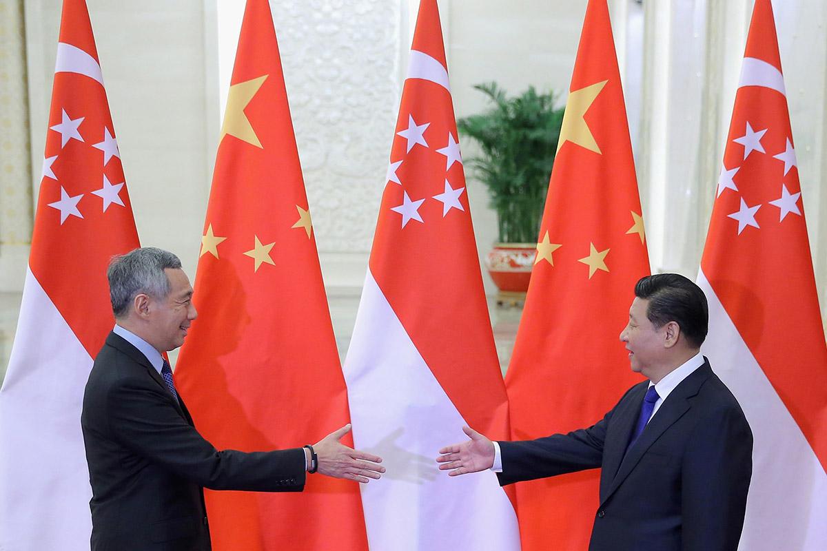 Quan điểm của Lý Hiển Long về một liên minh chống Trung Quốc của Mỹ
