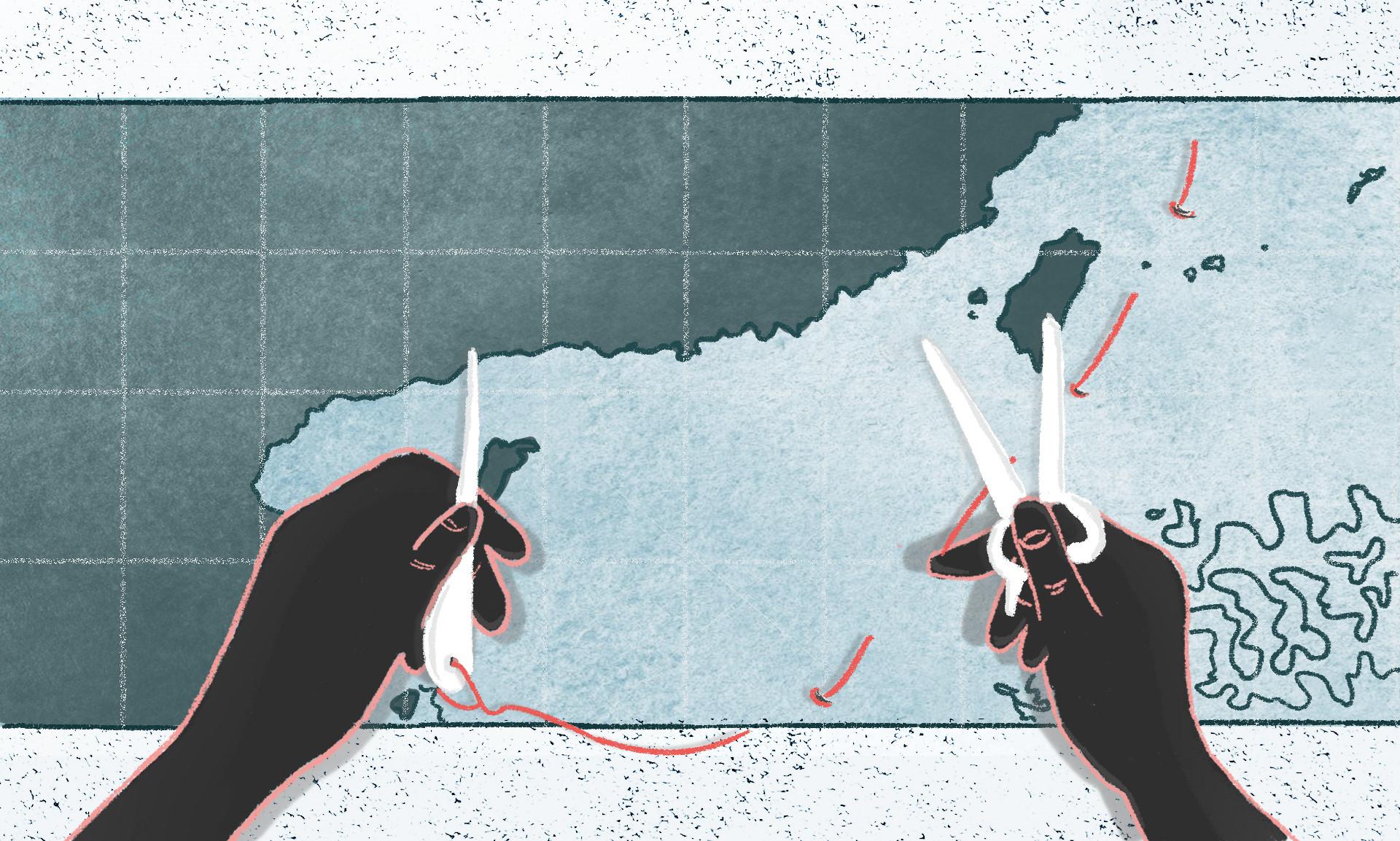 Trung Quốc đang vung tiền vẽ 'đường lưỡi bò' khắp nơi