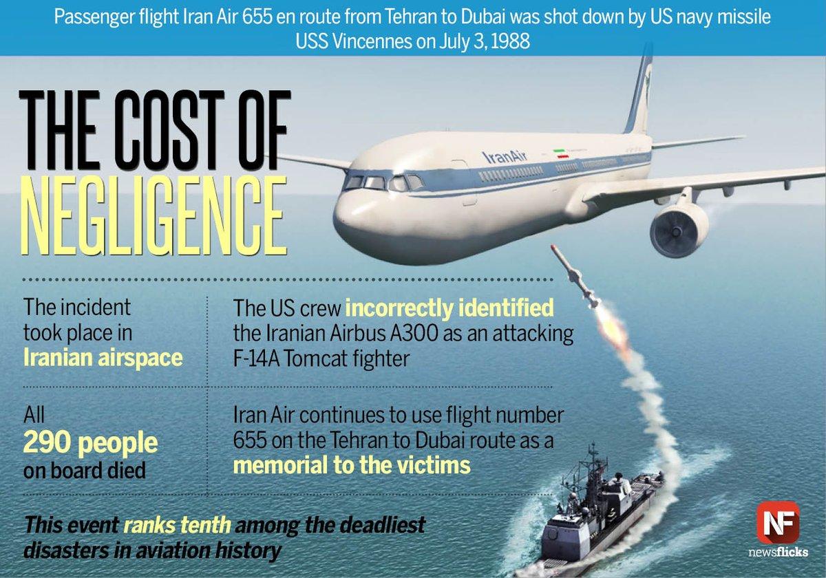 Vụ Mỹ bắn rơi máy bay chở 290 người của Iran năm 1988