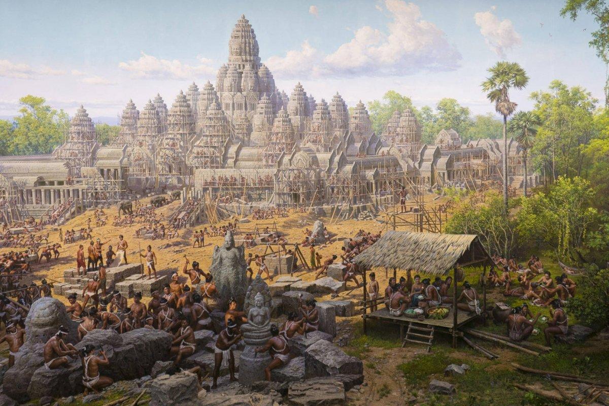 Giải mã sự suy tàn của kinh thành Angkor