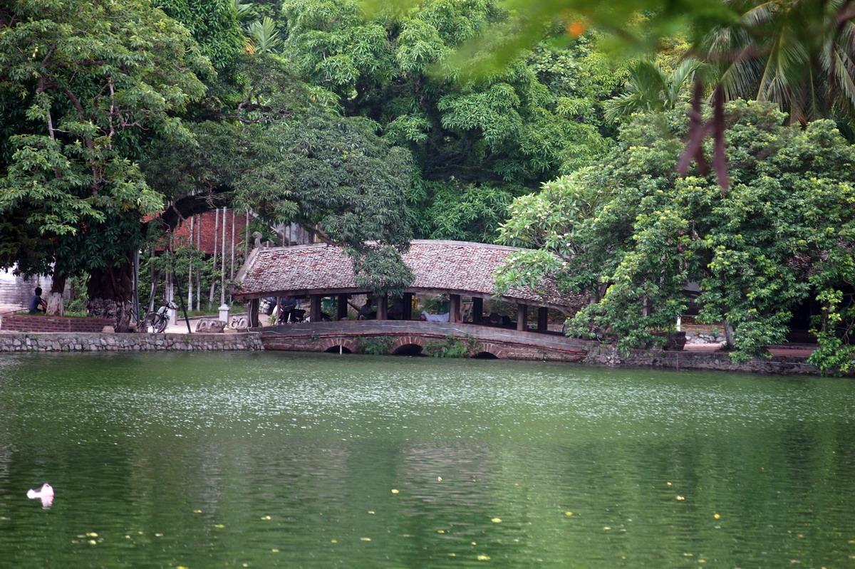 Chùm ảnh: Hai cây cầu ngói chùa Thầy – công trình để đời của 'Trạng Bùng' Phùng Khắc Khoan