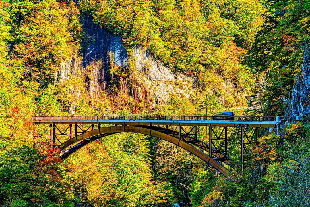 Chùm ảnh: Mùa thu trên Hakusan – ngọn núi thiêng nổi tiếng Nhật Bản