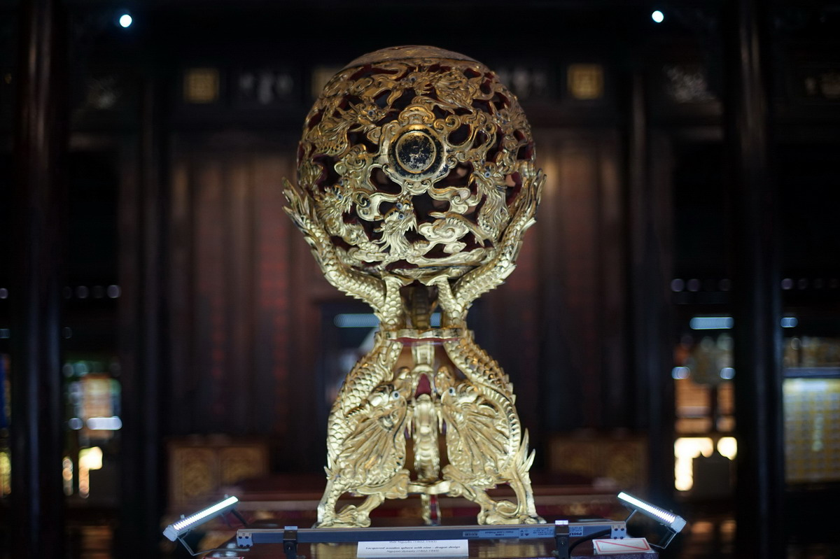 Chùm ảnh: Soi cuộc sống xa hoa vua vua nhà Nguyễn qua cổ vật quý