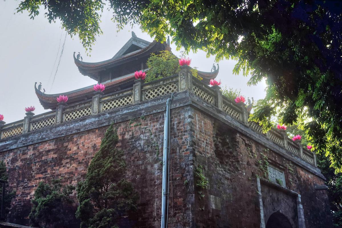 Chùm ảnh: Cửa Bắc thành Hà Nội và câu chuyện lịch sử không được phép quên