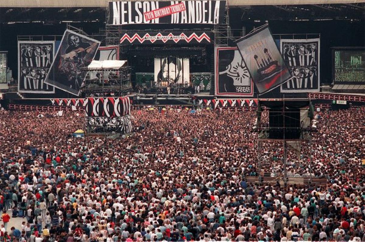 Buổi hòa nhạc lịch sử ủng hộ 'tên khủng bố' Nelson Mandela năm 1988