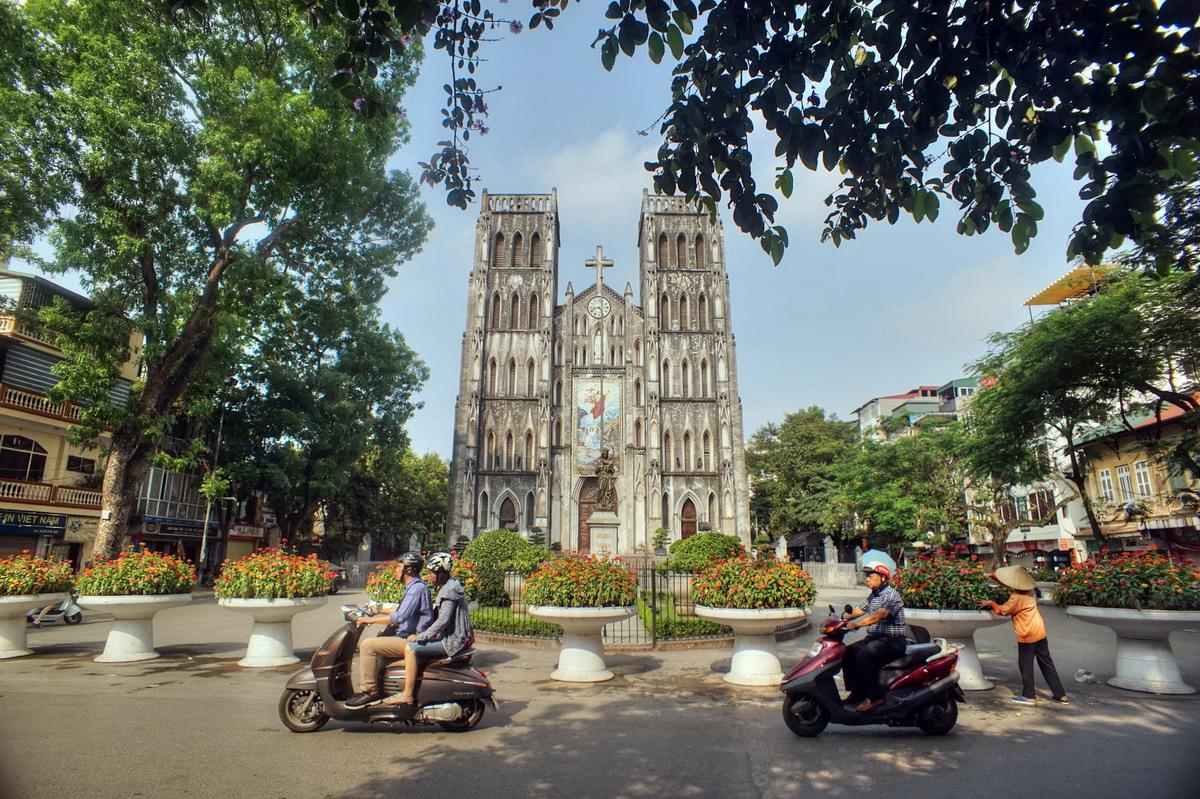 Chùm ảnh: Khám phá nhà thờ Lớn – nhà thờ cổ hoành tráng nhấtHà Nội